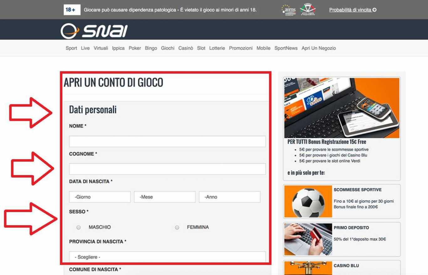 Snai card login: l'alternativa più pratica per la ricarica del conto