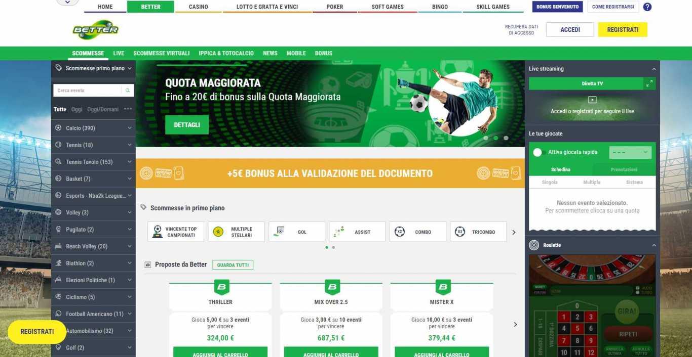 Qual è il migliore Codice Promozione Lottomatica in Italia?